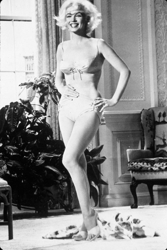 Szuper fotók kerültek elő az örök szexszimbólumról, Marilyn Monroe-ról.