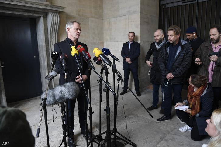 Jens Möller a koppenhágai rendőrség gyilkossági osztályának vezetője