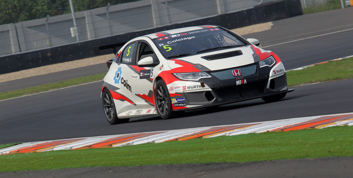 Roberto Colciago a TCR International Series kínai versenyén