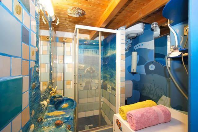 kagyló fürdőszoba