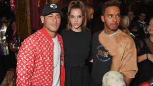 Neymar vagy Hamilton? Ön melyiküket választaná Palvin Barbara helyében?