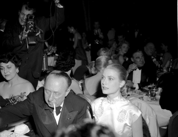 Joe Pasternak és Grace Kelly, Hitchcock múzsája, később monacói hercegné