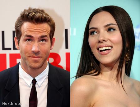 Ryan Reynolds és Scarlett Johansson
