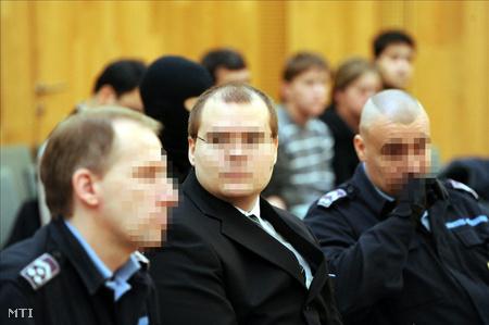G. Ákos a tárgyaláson (Fotó: Kálmándy Ferenc)