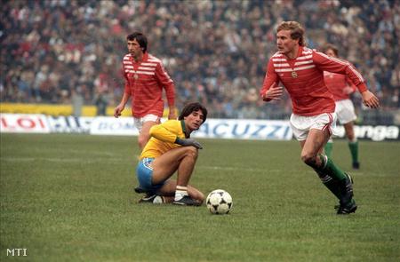 Garaba 1986-ban, a Magyarország - Brazília válogatott labdarúgó mérkőzésen