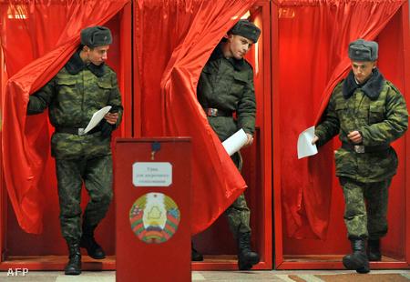 A katonák már december 14-én leadhatták szavazatukat