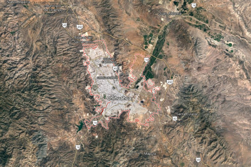 A csillaggyermek-koponyát egy 100 mérföldre Chihuahua-tól lévő barlangban találta meg a gyanútlan túrázó.