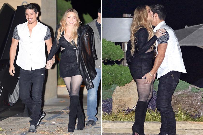 Mariah Carey és Bryan Tanaka Malibuban - a Nobu étteremben vacsoráztak és turbékoltak.