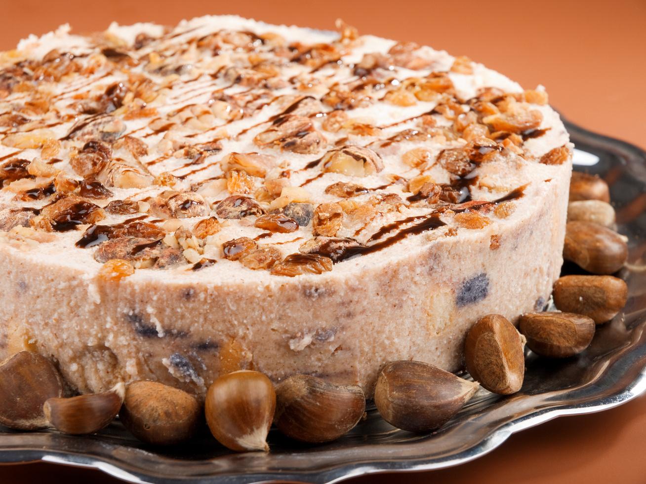 Csodás, gesztenyekrémes süti - Az alapja pihe-puha piskóta