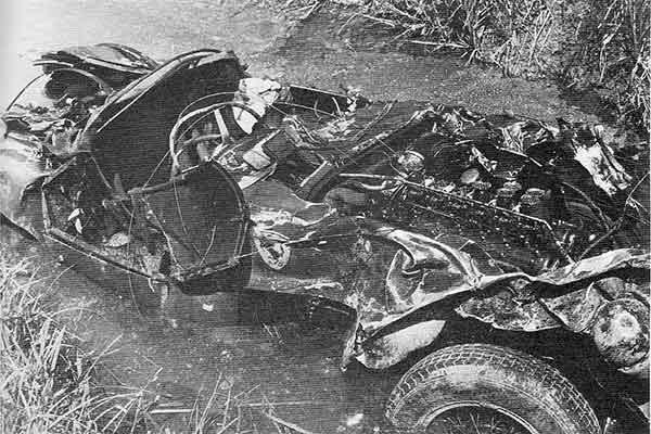 Portago Ferrarija a tragédia után
