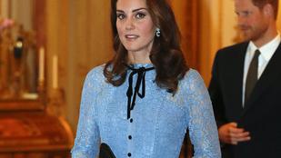 Katalin hercegné kicsit nyanyás ruhában tért vissza