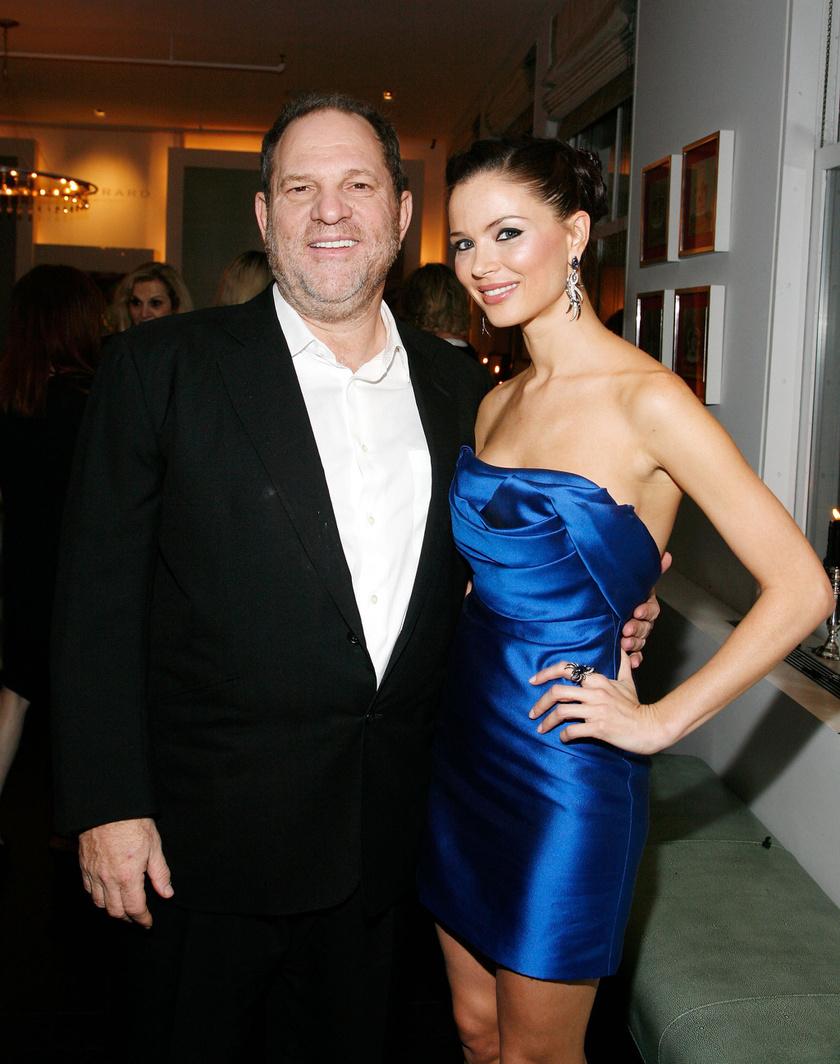 Harvey Weinstein és Georgina Chapman