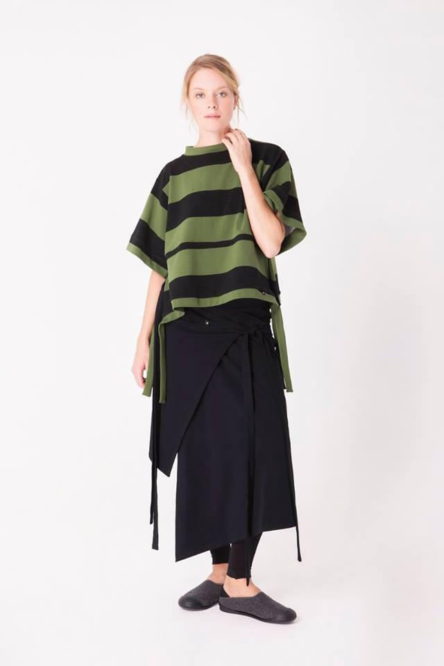 Fekete, fehér és zöld színek jellemzik a hétköznapokba könnyen beilleszthető kollekciót.
