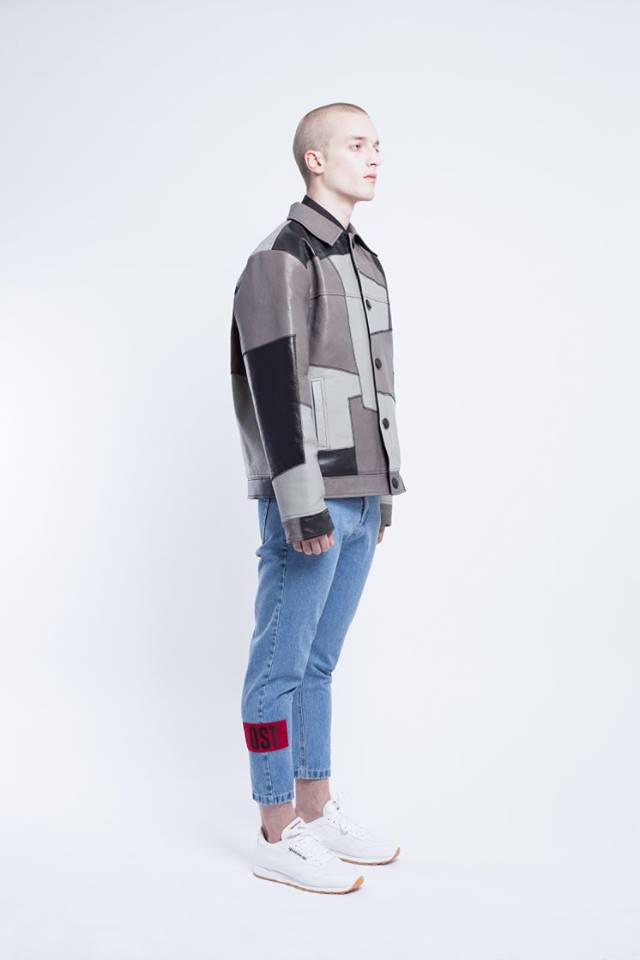 Fekete és szürke színeket kapott dzseki az Ost kollekciójában.