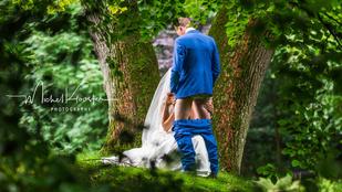 Íme, a világ egyik legmerészebb esküvői fotója
