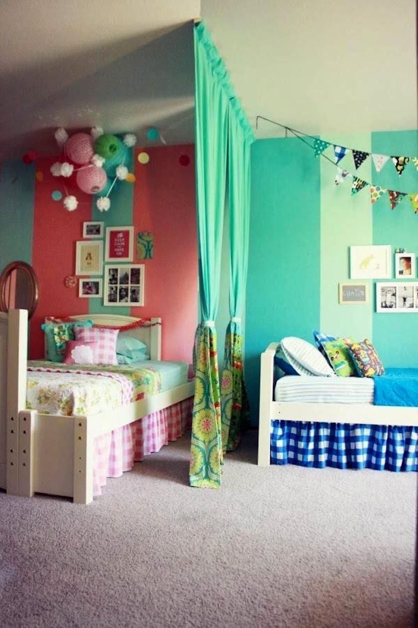 Még az sem probléma, ha egy fiú és egy lány él egy szobában. Briliáns ötletek következnek!
