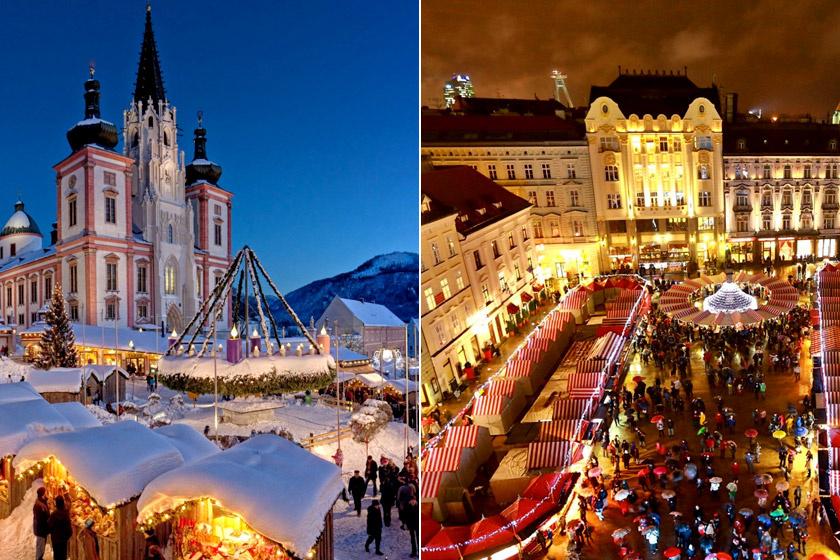 Advent Mariazellben és Pozsonyban