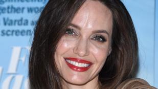 Angelina Jolie arca nagyon fényes volt ezen a premieren
