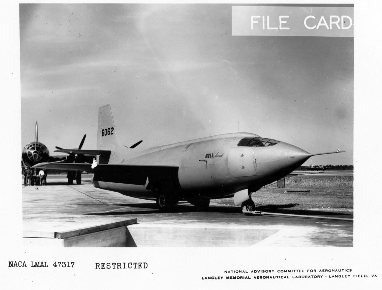 Az X-1 alakját egy az egyben egy 0.50-es kaliberű géppuskalövedékről mintázták a tervezők, azt véve alapul, hogy a hasonló alakú lövedék hangsebesség fölött repülve is stabil marad.