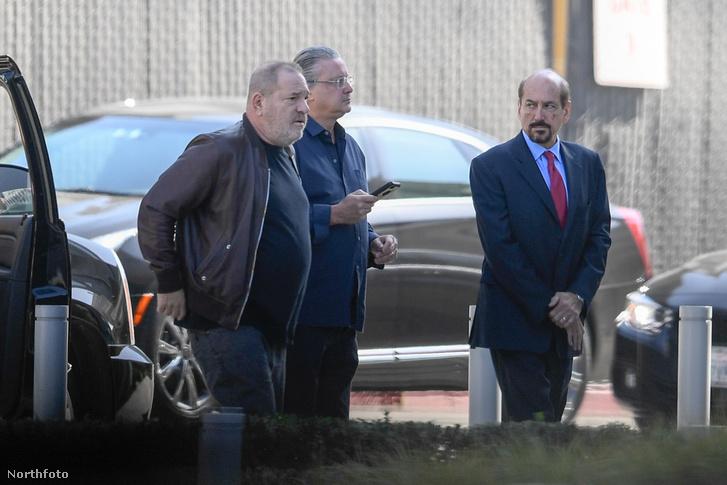 Harvey Weinstein Los Angelesben 2017. október 11-én
