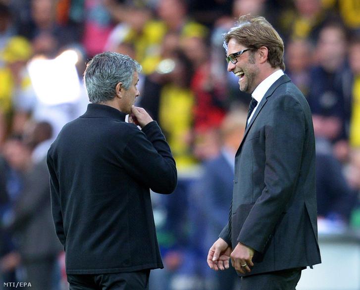 Mourinho és Klopp egymás ellen