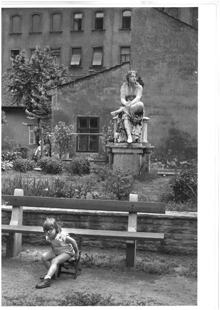 André Kertész: Kálvin tér (1971)
