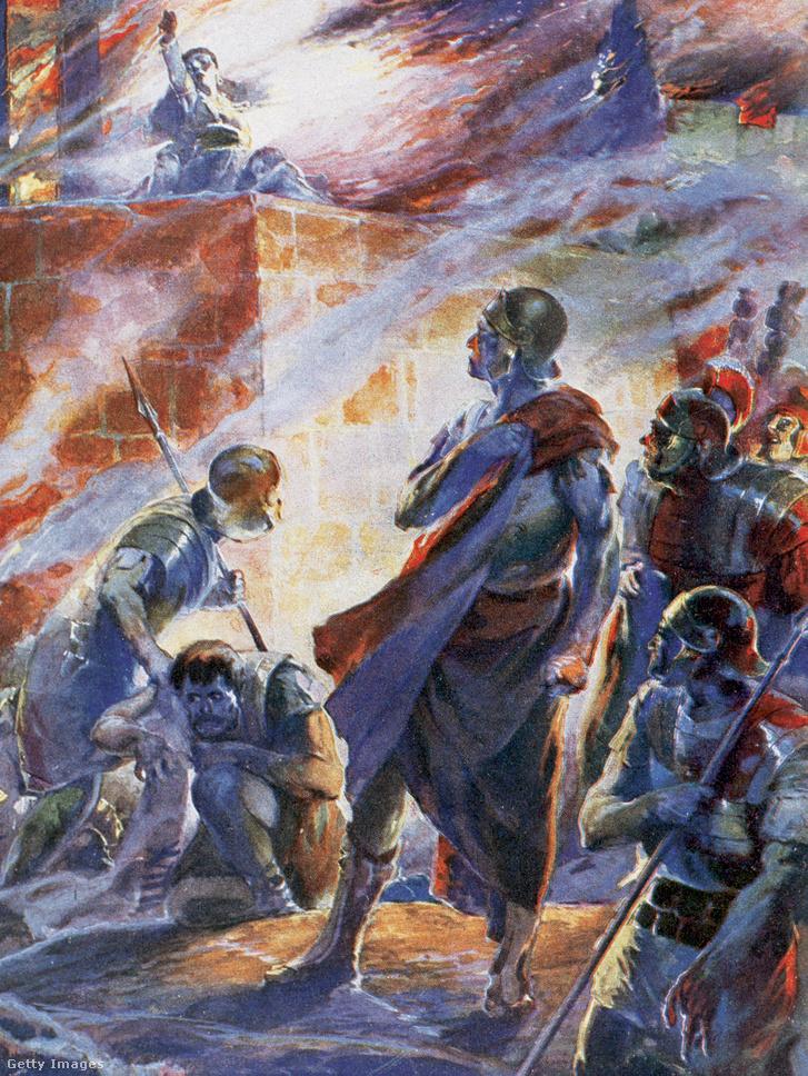A nagy római tűzvész