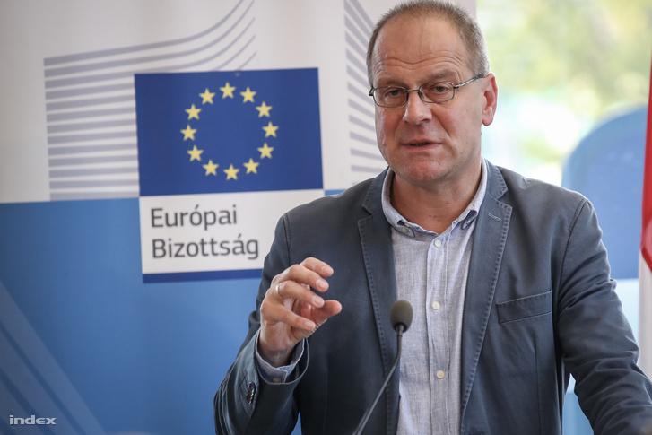 Navracsics Tibor a Millenáris rendezett beszélgetésen Európa jövőjéről és a kormány Soros-tervéről is beszélt 2017. október 6-én