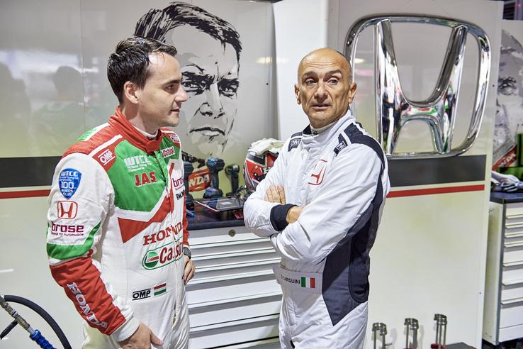 Michelisz Norbert mellé régi ismerőst – Gabriele Tarquinit – hívott be a Honda a szeptemberi tesztbaleset miatt hiányzó Tiago Monteiro helyettesítésére