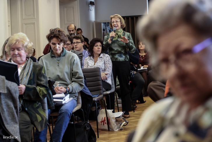 A Történelemtanárok Egyletének (TTE) éves konferenciáján a hallgatóság is kérdezhetett