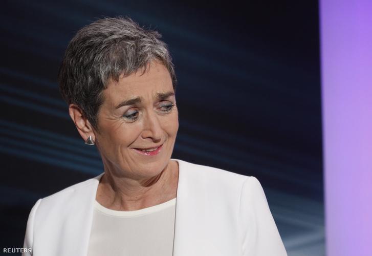 Ulrike Lunacek, a Zöldpárt listavezetője