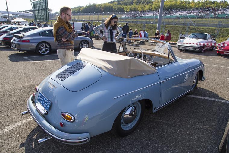 Porsche 356 1600 Cabriolet az 1950-es évekből
