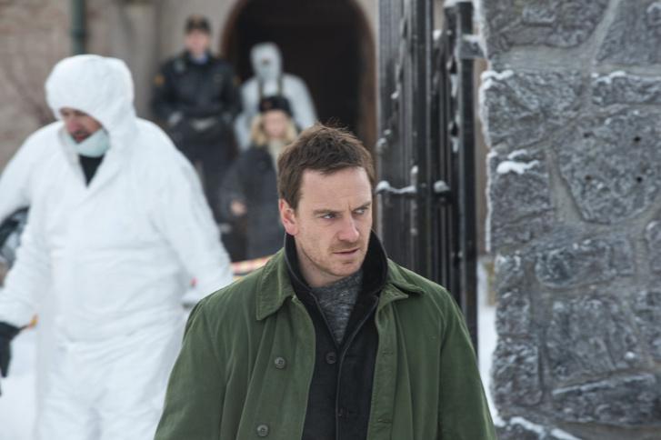 Michael Fassbender a Hóember című filmben