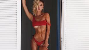 Nehéz dönteni, hogy elölről vagy hátulról jobb nő-e a Sports Illustrated új modellje
