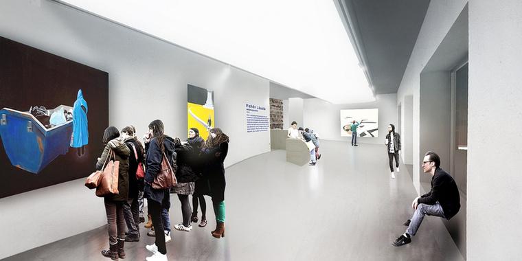 A galéria kérése volt, hogy a kialakítandó tér alkalmas legyen a képző- és iparművészeti tárlatok megszervezésén túl előadások, konferenciák, könyvbemutatók, fogadások magas színvonalú lebonyolítására is.