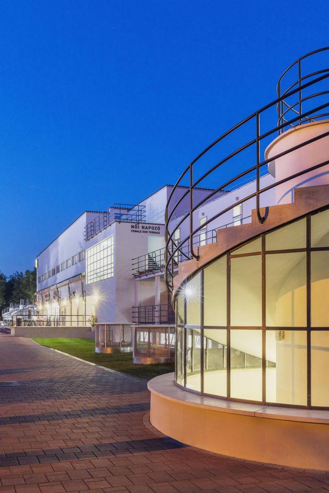 Az építészek szem előtt tartották az eredeti elképzeléseket a tervezés során.