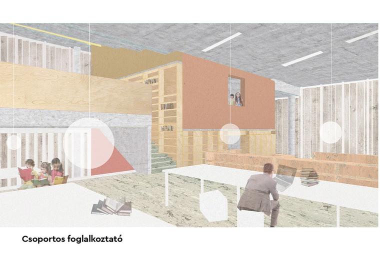 """""""A cél, hogy az épületet mindenki a magáénak érezze, programkínálatának színességével akár az épp arra járót is megszólítsa, beinvitálja."""""""