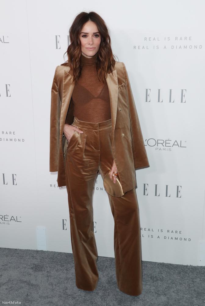 Abigail Spencer színésznőt nem látni túl gyakran vörös szőnyeges rendezvényeken, ...