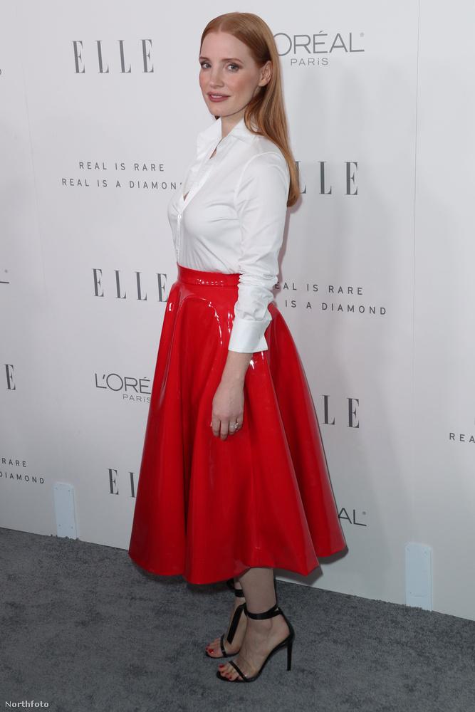 Jessica Chestain se maradt ki a buliból.