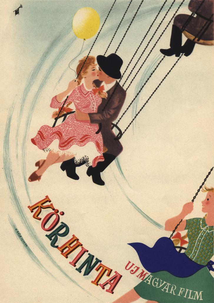 A Körhinta plakátja