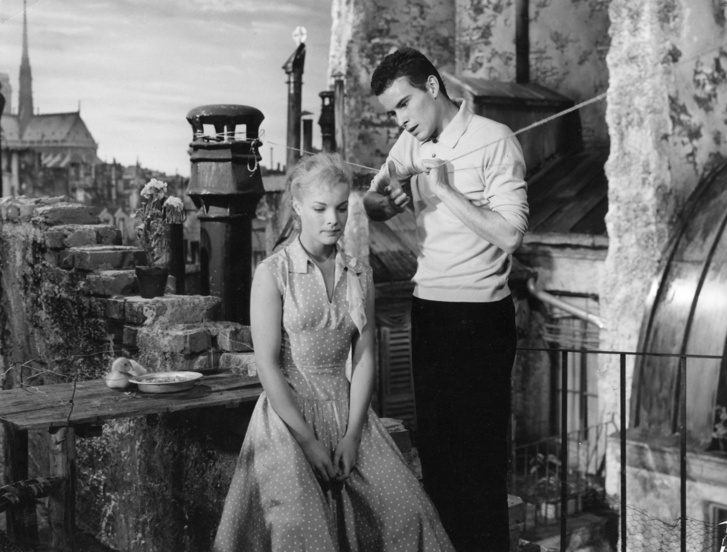 Romy Schneide és Horst Buchholz - Monpti 1957
