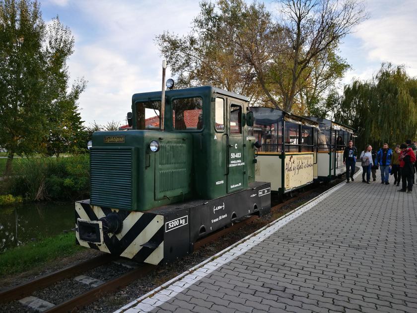 Íme, a Sziktipró: Magyarország egyetlen halastavi kisvasútján minden perc élmény, a végállomáson pedig a daruvonulást közvetlen közelből nézheted meg. Lenyűgöző ilyenkor az ég!