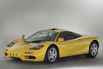 Húszéves, vadiúj McLaren sportkocsit tessék