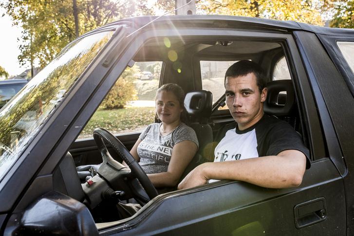 Kitti és Balázs