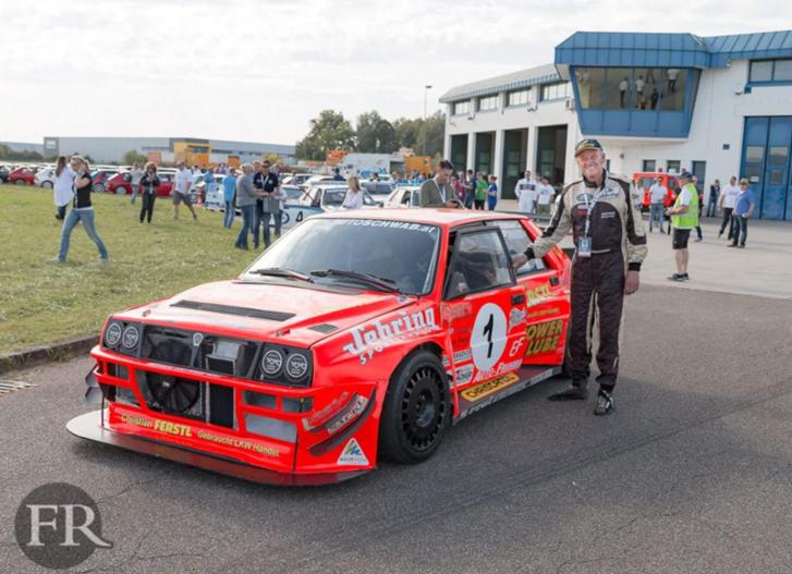 Felix Pailer és a részben csővázas, hegyi bajnok autó