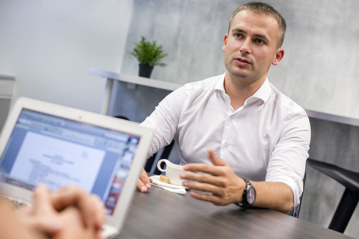 Lugos Roland az Optimum Solar Kft. tulajdonos-ügyvezetője