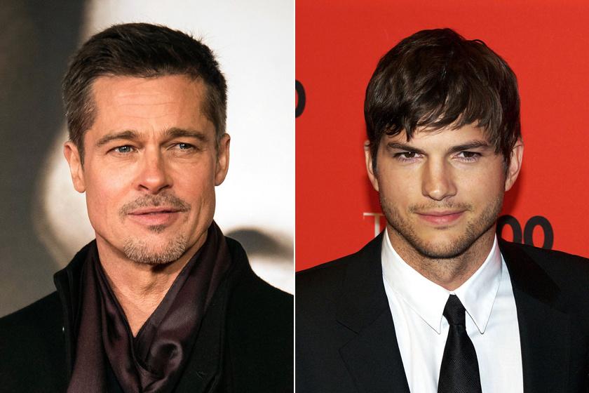 A sztárok közül például Brad Pitt és Ashton Kutcher arca is ilyen.