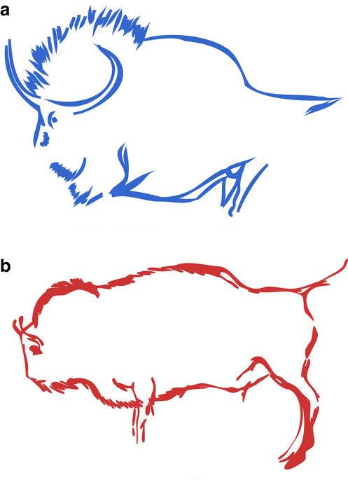 A) sztyeppei- b) európai bölény
