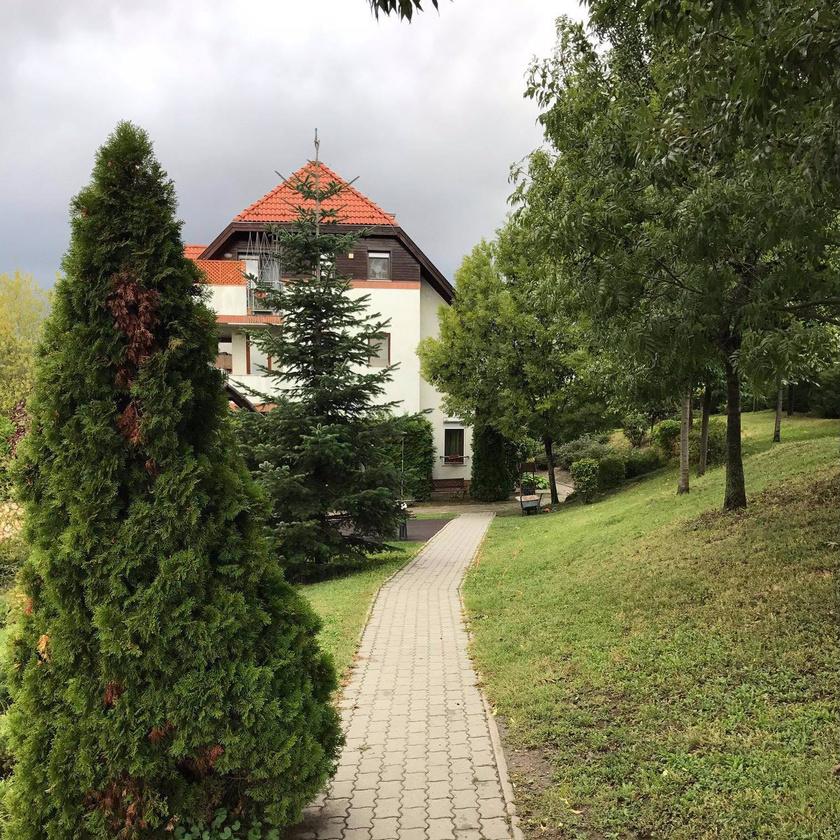 Csepregi Éva ebbe a gyönyörű, zöldövezeti lakóparkba költözött.