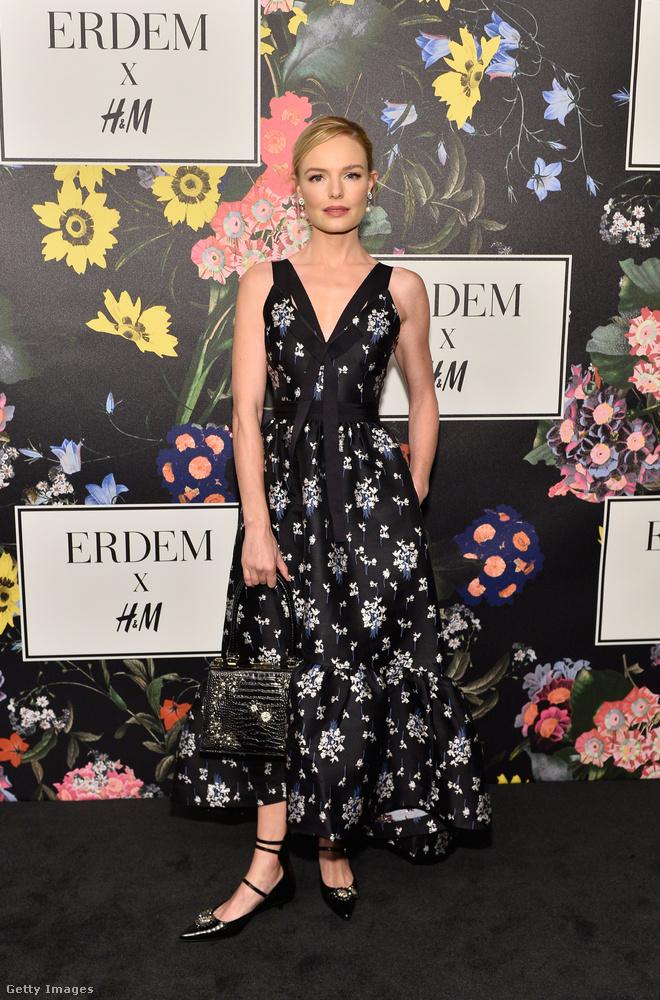 Kate Bosworth virágos ruhája emlékeztetett leginkább a vörös szőnyeges estélyikre.